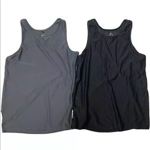 Lot Of 2 Graced By Grit Medium Mesh Workout Tops